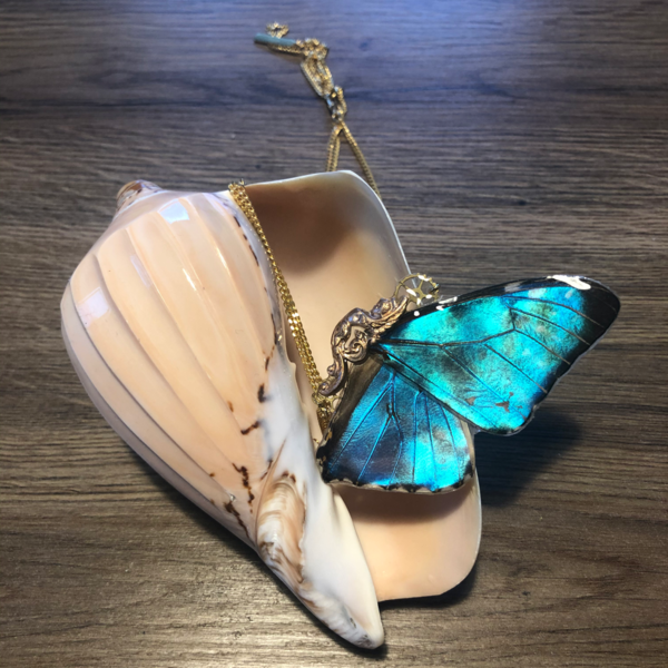 Collier Isis Morpho